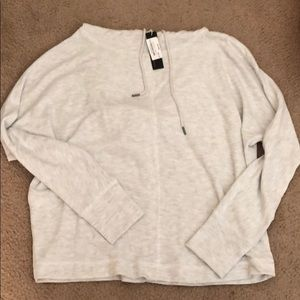 Gentle Fawn light grey sweater